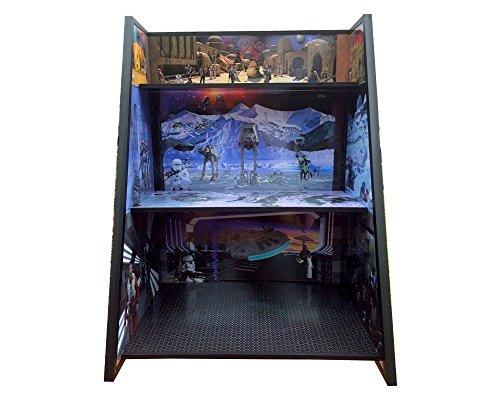 Star Wars Display Case (Star Wars Graduated 3 Shelf Play and Display unit)