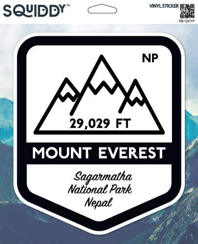 Squiddy Mount Everest - Vinyl Sticker for Car, Laptop, Notebook (5