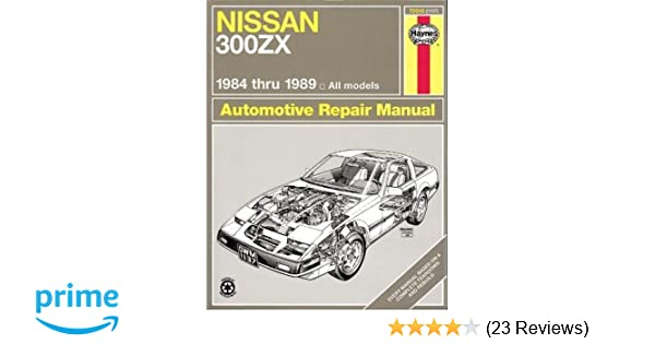 Nissan 300 ZX 8489 (Haynes Repair Manuals): Haynes: 0038345011375: Amazon.com: Books