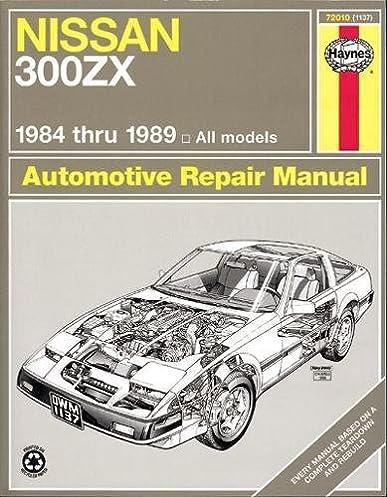 nissan 300 zx 84 89 haynes repair manuals haynes 0038345011375 rh amazon com 1991 Nissan 300ZX 1991 Nissan 300ZX Interior
