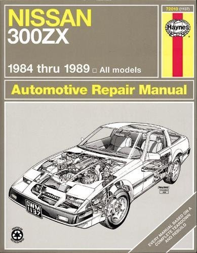 Nissan 300ZX Turbo & Non-Turbo Models 84 - 89 USA service & repair manuals: Amazon.es: Homer Eubanks, J. H. Haynes: Libros en idiomas extranjeros