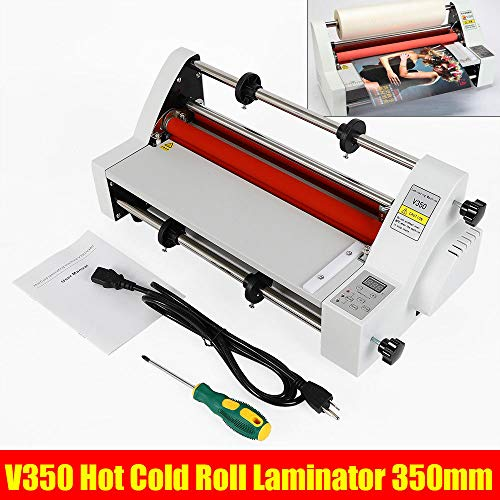 Usa Laminator - Hot Cold Roll Laminator, 110V 13