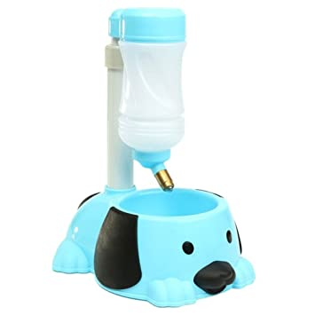Tao King 2 in1 automático mascota dispensador de agua potable Tazón para no Derrame: Amazon.es: Productos para mascotas