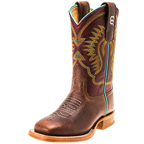 Anderson Boots Bean Kids (Anderson Bean Boys Kid s Moka Pit Bull Cowboy Boots 12 M US Little Kid Brown)