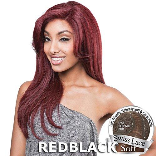 Brown Sugar Hair - ISIS BROWN SUGAR Human Blended Lace Front Wig - BS201 (#2 - Dark Brown) by ISIS HAIR