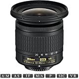 Nikon AF-P DX NIKKOR 10-20mm f/4.5-5.6G VR Lens (20067) - (Renewed)