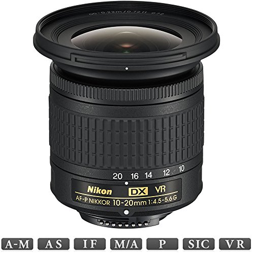 Nikon AF-P DX NIKKOR 10-20mm f/4.5-5.6G VR Lens (20067) - (Renewed)