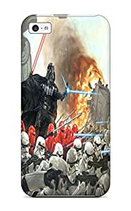 High Quality DanRobertse Star Wars Darth Vader Skin Case Cover Specially Designed For Iphone - 5c