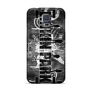 DannyLCHEUNG Samsung Galaxy S5 Shock Absorption Hard Phone Covers Custom High Resolution Linkin Park Band Series [Vgq20279SzWv]