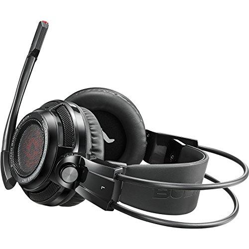 Bultaco Technology Lobito GT 301 Binaurale Diadema Negro, Rojo Auricular con micrófono - Auriculares con micrófono (Game Console + PC/Gaming, Binaurale, ...
