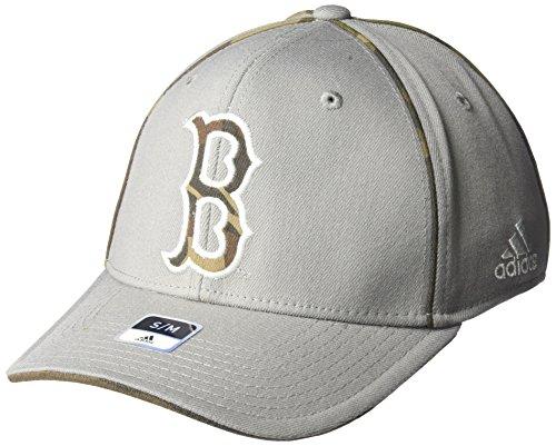 adidas NCAA UCLA Bruins Men's Hint of Camo Flex Fit Cap, Small/Medium, Grey