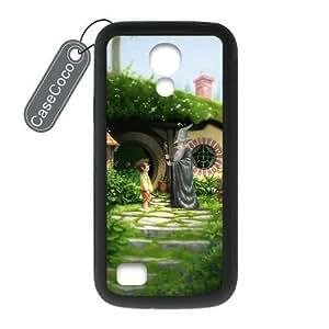 CASECOCO(TM) The Hobbit Samsung Galaxy S4 mini Case - Protective Hard Back / Black Rubber Sides Case for Samsung Galaxy S4 mini