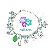 Disney's MOANA Princess Inspired Assorted Metal Charms BRACELET - Best Reviews Guide