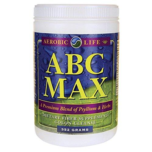 Aerobic Life ABC Max Colon Cleanse Powder Supplement, 352 Grams