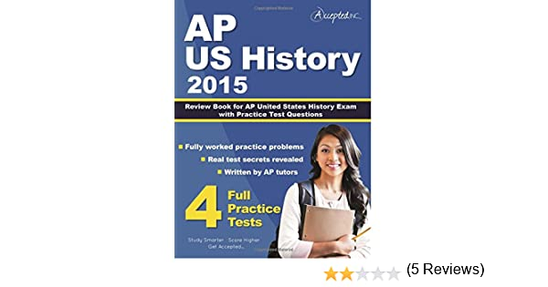 Amazon ap us history 2015 review book for ap united states amazon ap us history 2015 review book for ap united states history exam with practice test questions 9781941743294 ap us history team books fandeluxe Images
