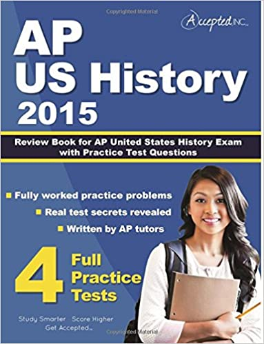 Amazon ap us history 2015 review book for ap united states ap us history 2015 review book for ap united states history exam with practice test questions fandeluxe Images