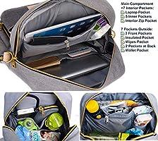 Backpack Diaper Bag – Large Multifunction Travel Back Pack for Mom Women – Baby  Toddler Girls. Loading Images. 5f035bdde7ec9