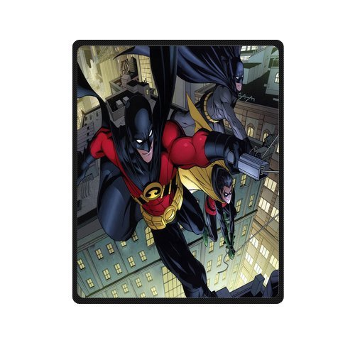 innovation-personalized-fashion-design-custom-comics-batman-and-red-robin-blanket-indoor-and-outdoor