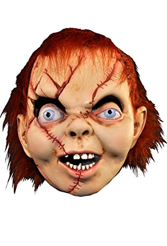 [BRIDE OF CHUCKY MASK] (The Bride Of Chucky Costume For Kids)