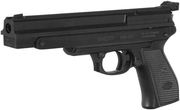 Gamo 45 Pistola Aire COMPRIMIDO PR 4,5, Adultos Unisex, Gris