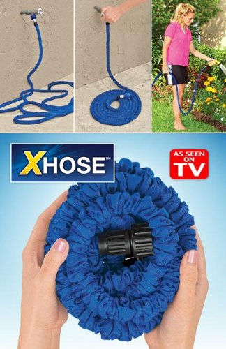50 Ft Xhose™ Automatically Expands & Contracts Compare At $69.95