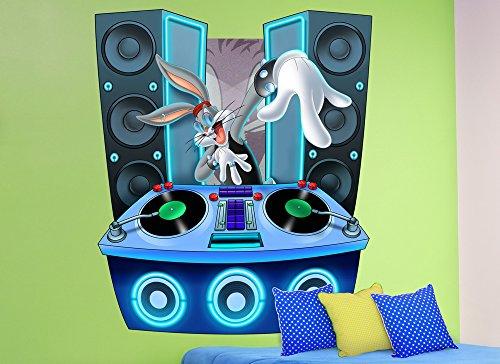 DJ Bugs Bunny Wall Decal