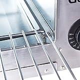 Goplus Pizza Oven, Stainless Steel Pizza Maker