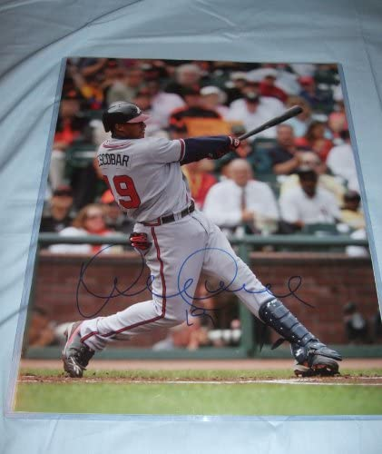 B007ZUKZ30 Yunel Escobar Autographed Atlanta Braves 16x20 Photo W/PROOF, Picture of Yunel Signing For Us. Toronto Blue Jays 51qFac1mYKL.
