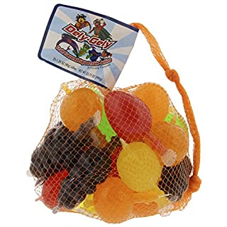 Dely-Gely Fruit Jelly - Gelatina De Frutas 25 Units (Pack of 12)