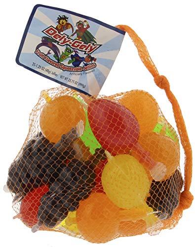 Dely-Gely Fruit Jelly - Gelatina De Frutas 25 Units (Pack of 1)