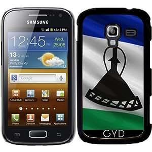 Funda para Samsung Galaxy Ace 2 (GT-I8160) - Bandera De Lesotho by Carsten Reisinger
