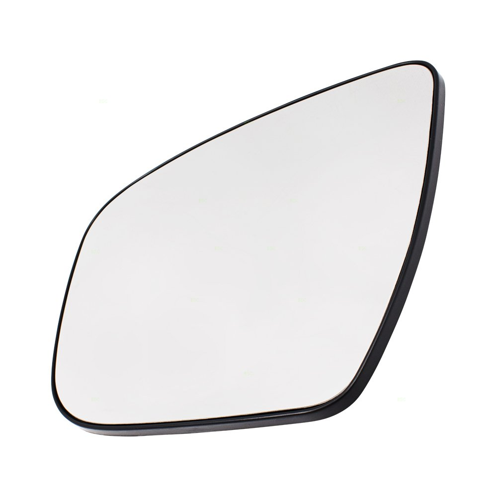 Drivers Side View Mirror Glass /& Base Heated Replacement for Nissan Murano Rogue Pathfinder 963664BA1A
