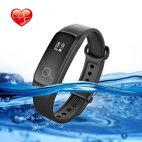 Lenovo Fitness Tracker With Heart Rate Monitor, G10 Waterproof Activity Tracker Sport Watch With Walking Pedometer Sleep Monitor Calorie Counter Call and SMS Reminder for Kids Women and Men