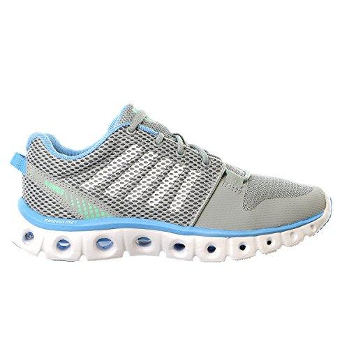 K-Swiss Women's Xlite Athletic Shoe Storm/Bonnie Blue/Mint/White