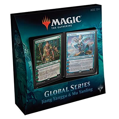 Magic The Gathering MTG-GS1-EN Global Series Jiang Yanggu and Mu Yanling Duel Decks: Toys & Games