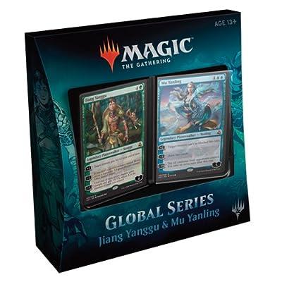 Magic The Gathering MTG-GS1-EN Global Series Jiang Yanggu and Mu Yanling Duel Decks: Toys & Games