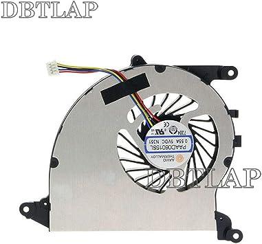 DBTLAP CPU Enfriamiento Enfriamiento Ventilador para MSI GS40 GS43 GS43VR MS-14A2 Ordenador portátil CPU Enfriamiento Ventilador PAAD06015SL N324 N351: Amazon.es: Electrónica