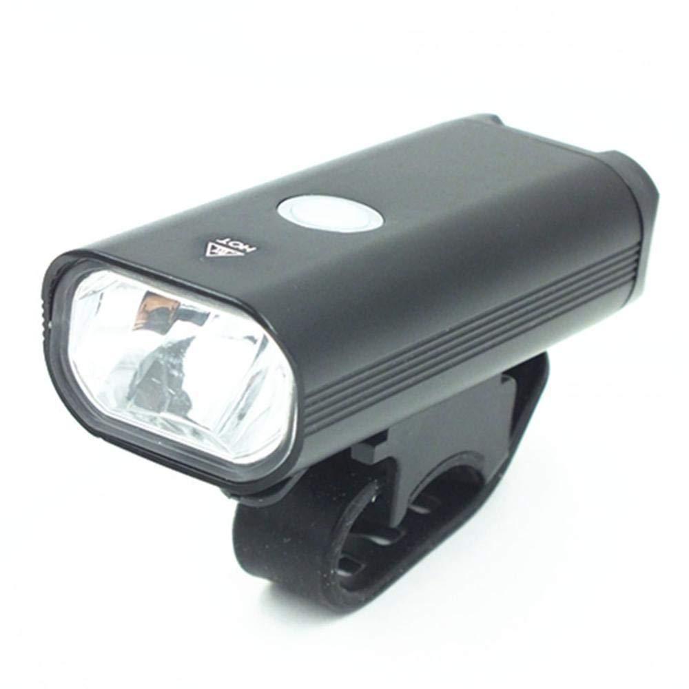 Daeou Luces de Bicicleta Luz Trasera USB Cargador luz Delantera luz de Advertencia del vehículo de montaña