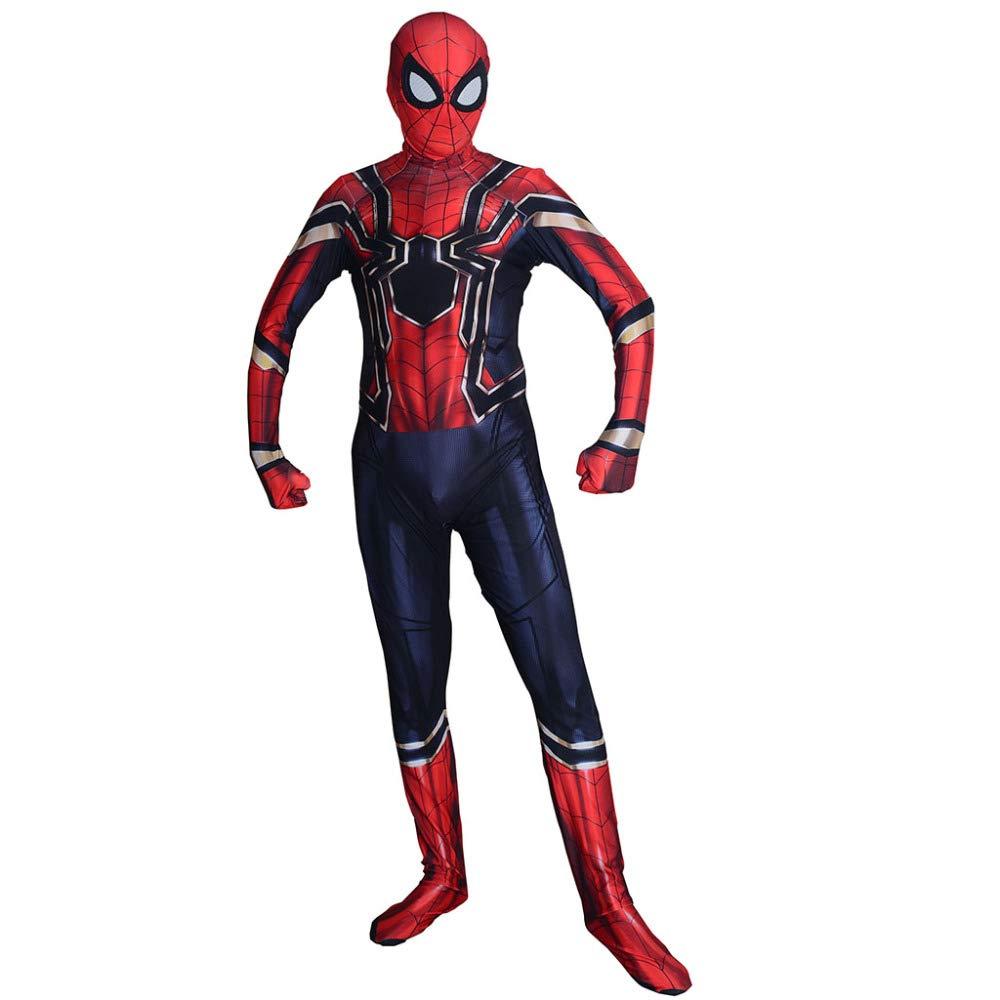 Amazon.com: DSFGHE Iron Spider Man Medias Cosplay De ...