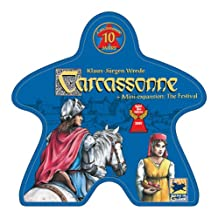 Rio Grande Games RGG436 Carcassonne 10 Year Special Edition