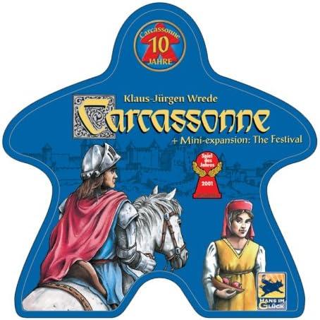 Carcassonne: 10 Year Special Edition: Amazon.es: Juguetes y juegos