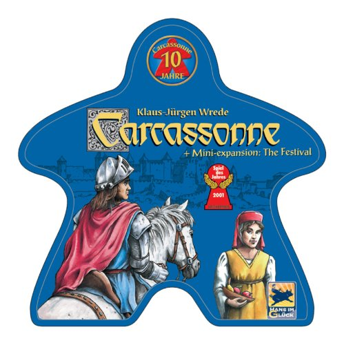 Rio Grande Games Carcassonne: 10 Year Special Edition