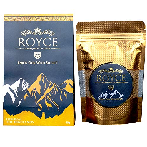 Civet Cat Coffee (Kopi Luwak) - Jungle Cat Coffee - Fresh from the Highlands - 40 gram resealable pouch