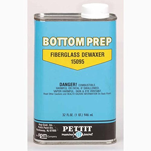 Pettit Paint Bottom Prep Fiberglass Dewaxer D95, Quart