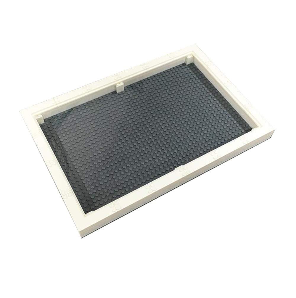 Las ventas en línea ahorran un 70%. EP-Toy Creative Building Block Photo Frame, 32 × × × 48 Ladrillo Base de Almacenamiento Ensamblaje de Bricolaje a Prueba de Polvo con Soporte L (10.1 × 5 ),negro  tiendas minoristas
