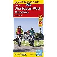 ADFC-Radtourenkarte 26 Oberbayern West/München 1:150.000, reiß- und wetterfest, GPS-Tracks Download (ADFC-Radtourenkarte 1:150000)