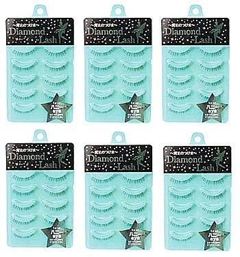 Standard Series Eye (Diamond Lash Japan - Diamond Lash diamond rush Little Wink series Honey eye ★ 6 Pack Set)