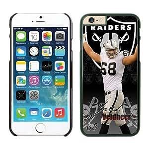 NFL Oakland Raiders Jared Veldheer Case Cover For Apple Iphone 5/5S Black NFL Case Cover For Apple Iphone 5/5S 13818