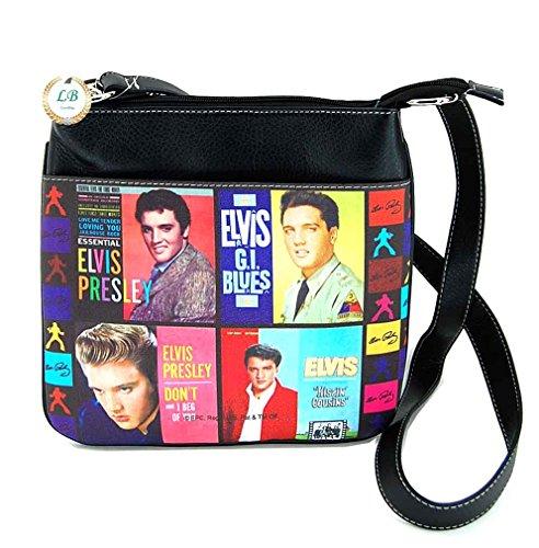 Presley Bag Cross Elvis Collage Body wUqCA1x