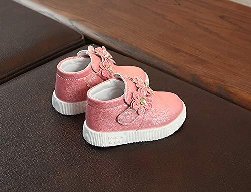 BéBé Chaussures Martin Chaud Sneaker Wind Floral Rose Boots Fleurs Simples Sneakers OHQ Filles Casual Bottes Femmes Talons Chaussures Enfants pour British xqvP4fw8a